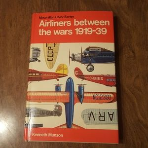 AIRLINERS BETWEEN THE WARS 1919-39 MUNSON 1972